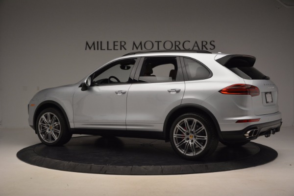 Used 2016 Porsche Cayenne Turbo for sale Sold at Maserati of Greenwich in Greenwich CT 06830 4
