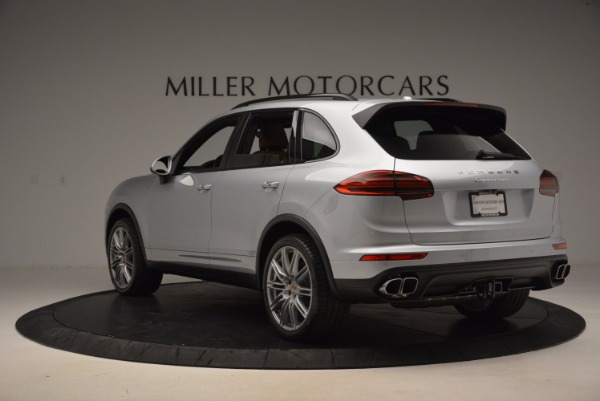 Used 2016 Porsche Cayenne Turbo for sale Sold at Maserati of Greenwich in Greenwich CT 06830 5