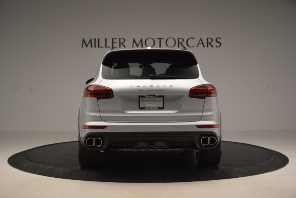 Used 2016 Porsche Cayenne Turbo for sale Sold at Maserati of Greenwich in Greenwich CT 06830 6