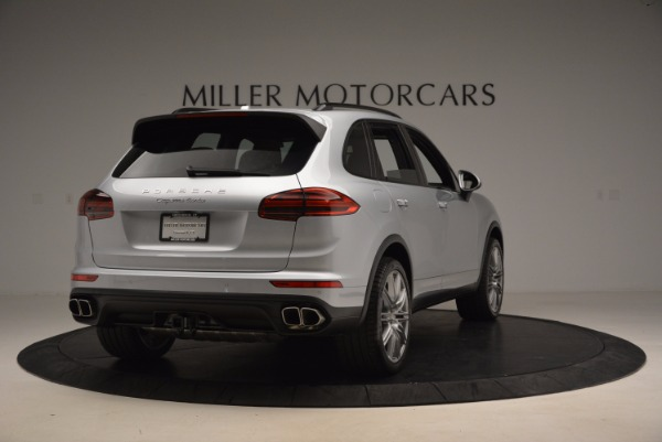 Used 2016 Porsche Cayenne Turbo for sale Sold at Maserati of Greenwich in Greenwich CT 06830 7