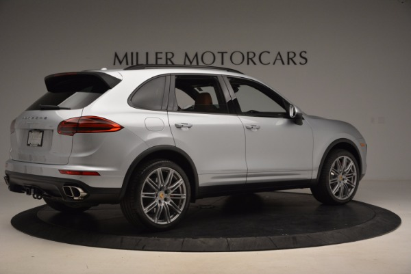 Used 2016 Porsche Cayenne Turbo for sale Sold at Maserati of Greenwich in Greenwich CT 06830 8