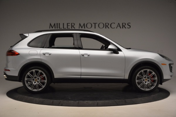 Used 2016 Porsche Cayenne Turbo for sale Sold at Maserati of Greenwich in Greenwich CT 06830 9