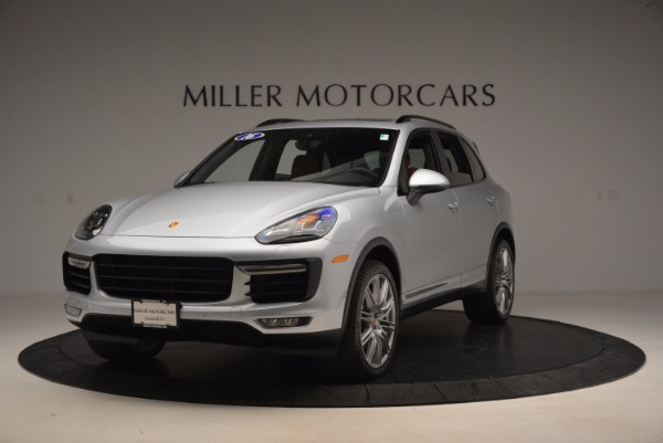 Used 2016 Porsche Cayenne Turbo for sale Sold at Maserati of Greenwich in Greenwich CT 06830 1