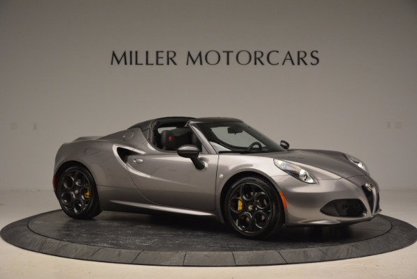 New 2016 Alfa Romeo 4C Spider for sale Sold at Maserati of Greenwich in Greenwich CT 06830 10