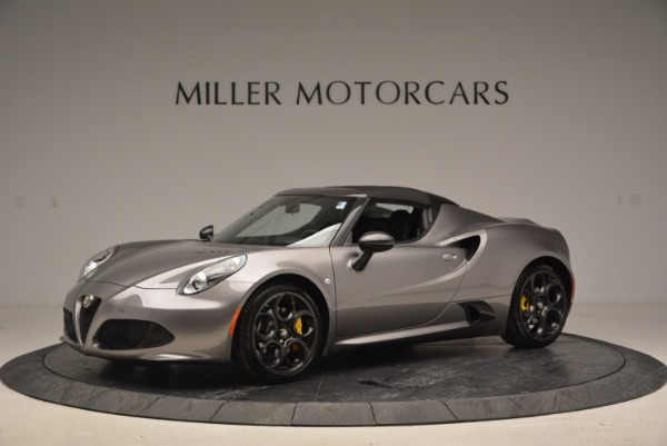 New 2016 Alfa Romeo 4C Spider for sale Sold at Maserati of Greenwich in Greenwich CT 06830 14