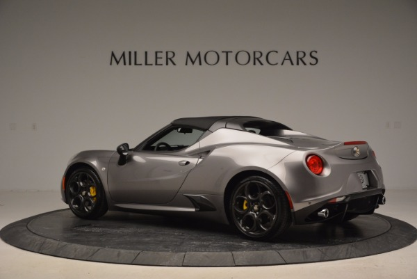 New 2016 Alfa Romeo 4C Spider for sale Sold at Maserati of Greenwich in Greenwich CT 06830 16