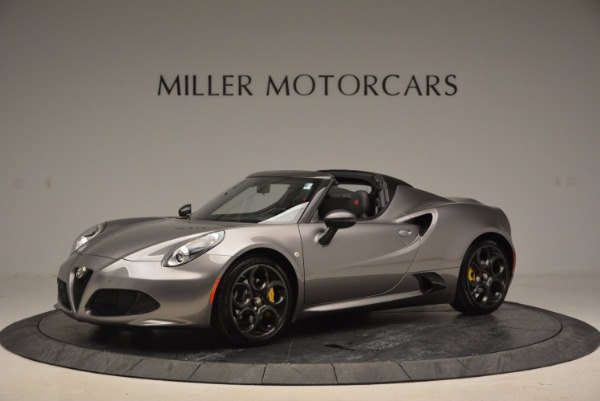New 2016 Alfa Romeo 4C Spider for sale Sold at Maserati of Greenwich in Greenwich CT 06830 2