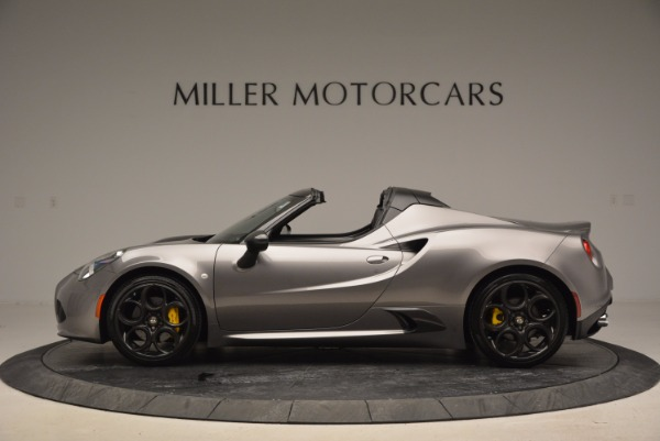 New 2016 Alfa Romeo 4C Spider for sale Sold at Maserati of Greenwich in Greenwich CT 06830 3