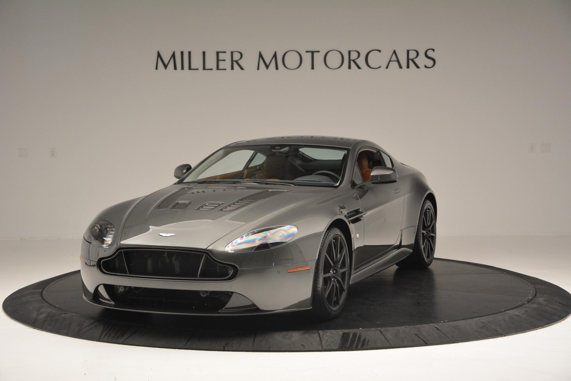 Used 2015 Aston Martin V12 Vantage S for sale Sold at Maserati of Greenwich in Greenwich CT 06830 1