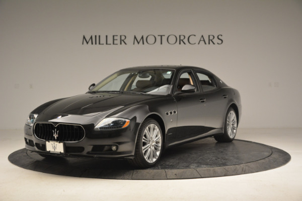 Used 2013 Maserati Quattroporte S for sale Sold at Maserati of Greenwich in Greenwich CT 06830 1