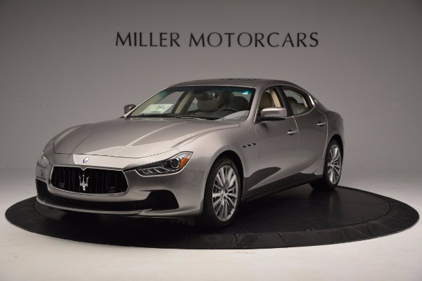 New 2017 Maserati Ghibli S Q4 EX-Loaner for sale Sold at Maserati of Greenwich in Greenwich CT 06830 1