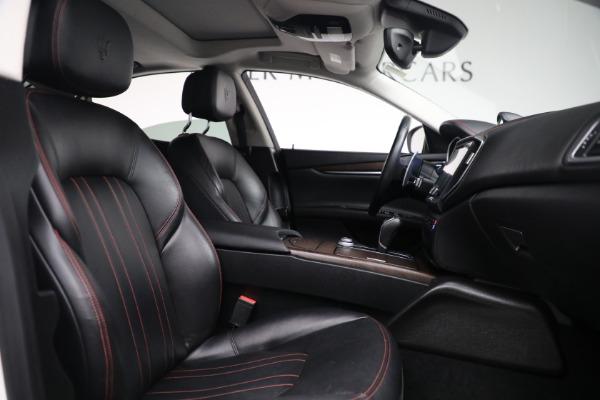 New 2017 Maserati Ghibli S Q4 EX-Loaner for sale Sold at Maserati of Greenwich in Greenwich CT 06830 22