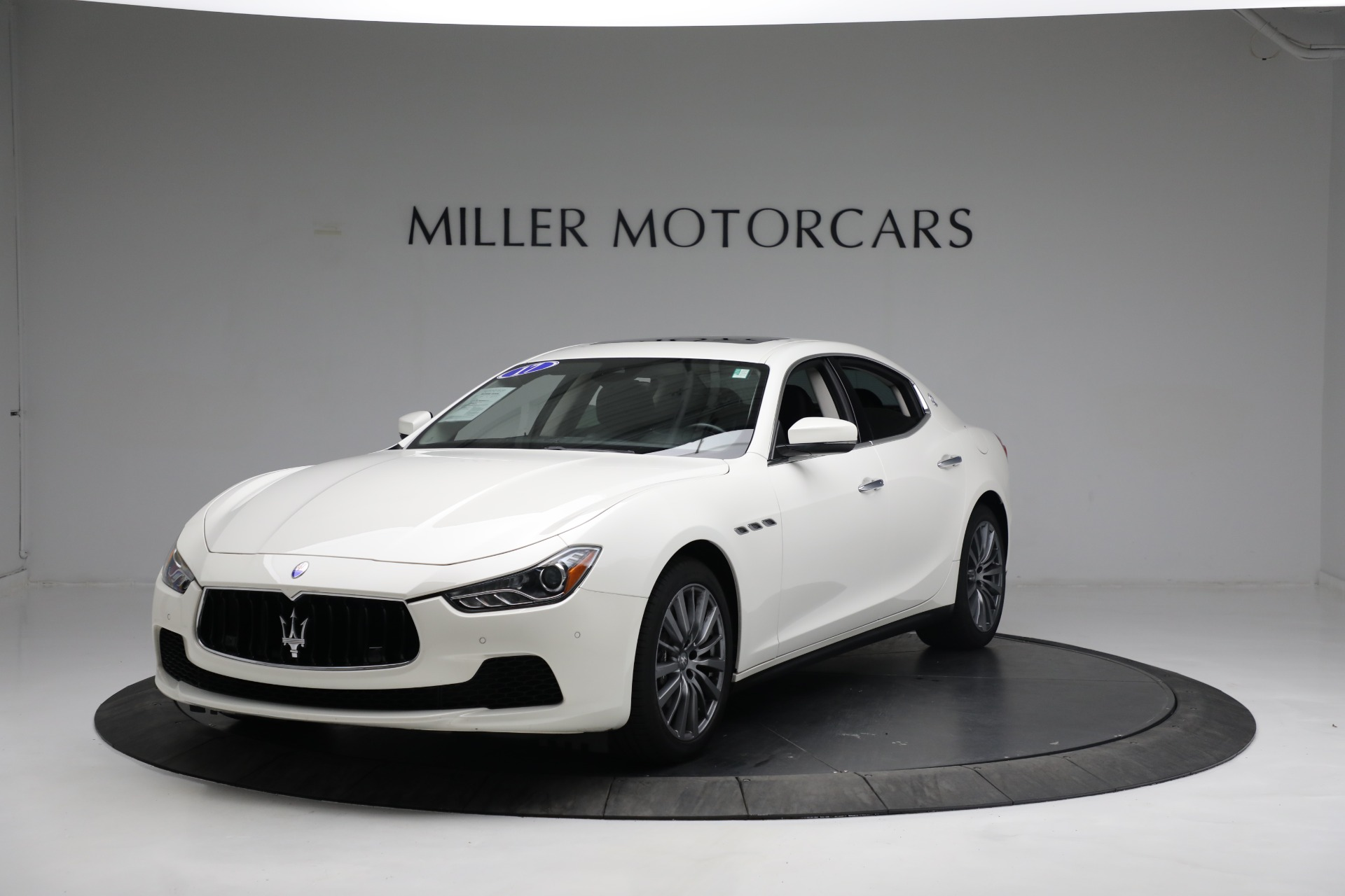 New 2017 Maserati Ghibli S Q4 EX-Loaner for sale Sold at Maserati of Greenwich in Greenwich CT 06830 1