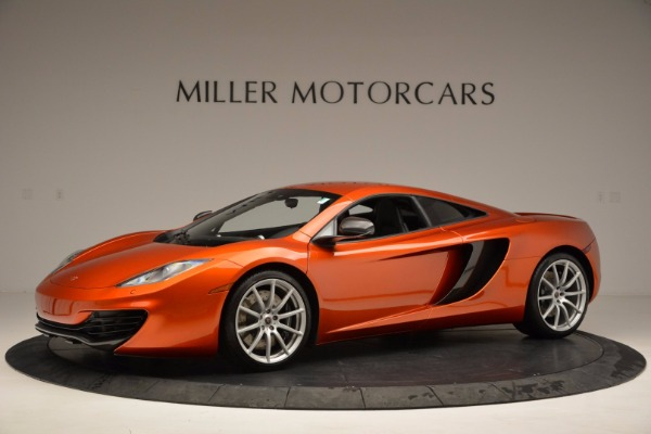 Used 2012 McLaren MP4-12C for sale Sold at Maserati of Greenwich in Greenwich CT 06830 2