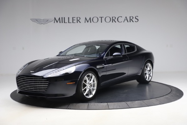 New 2016 Aston Martin Rapide S Base for sale Sold at Maserati of Greenwich in Greenwich CT 06830 1