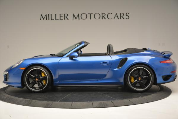 Used 2014 Porsche 911 Turbo S for sale Sold at Maserati of Greenwich in Greenwich CT 06830 3
