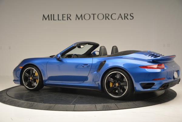Used 2014 Porsche 911 Turbo S for sale Sold at Maserati of Greenwich in Greenwich CT 06830 4