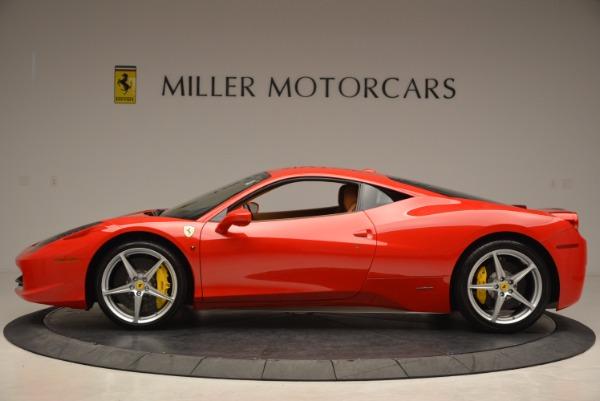Used 2011 Ferrari 458 Italia for sale Sold at Maserati of Greenwich in Greenwich CT 06830 3