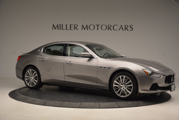 Used 2015 Maserati Ghibli S Q4 for sale Sold at Maserati of Greenwich in Greenwich CT 06830 10