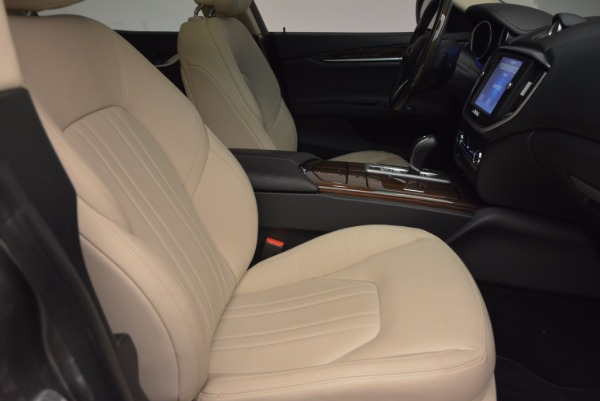 Used 2015 Maserati Ghibli S Q4 for sale Sold at Maserati of Greenwich in Greenwich CT 06830 20