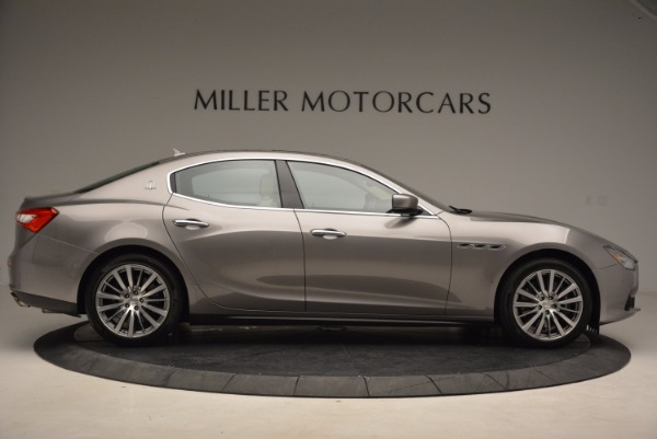 Used 2015 Maserati Ghibli S Q4 for sale Sold at Maserati of Greenwich in Greenwich CT 06830 9
