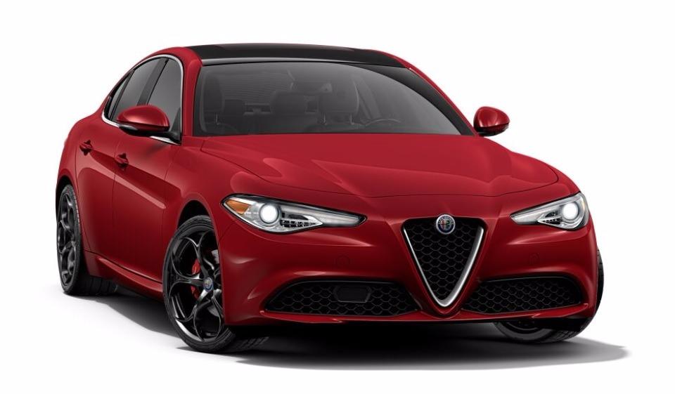 New 2017 Alfa Romeo Giulia Ti Q4 for sale Sold at Maserati of Greenwich in Greenwich CT 06830 1