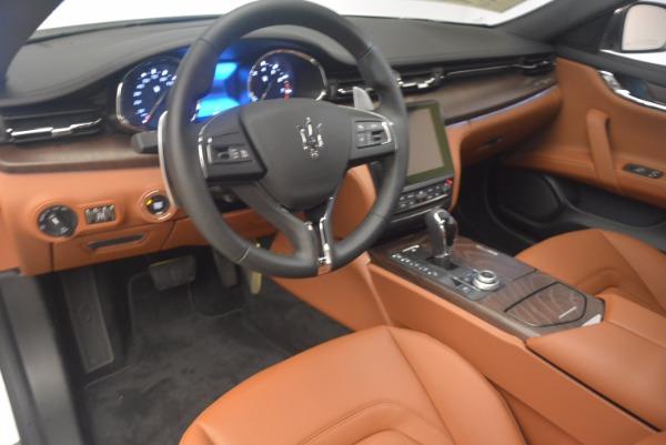 Used 2017 Maserati Quattroporte SQ4 for sale Sold at Maserati of Greenwich in Greenwich CT 06830 13