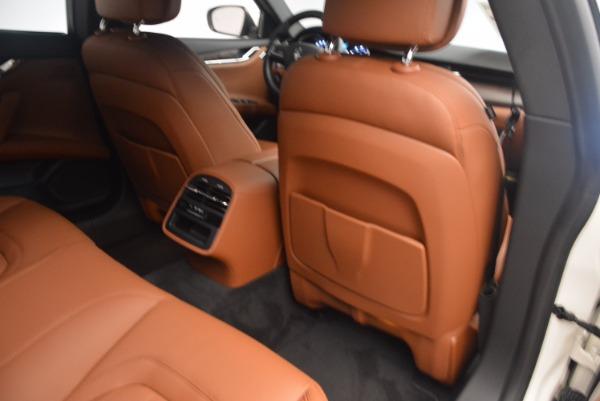 Used 2017 Maserati Quattroporte SQ4 for sale Sold at Maserati of Greenwich in Greenwich CT 06830 19