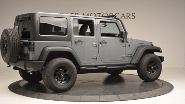 Used 2014 Jeep Wrangler Unlimited Sport for sale Sold at Maserati of Greenwich in Greenwich CT 06830 10