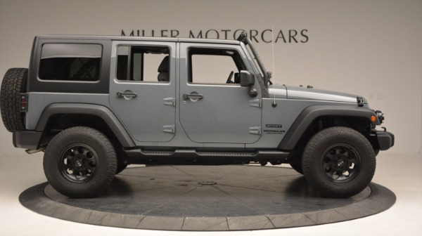 Used 2014 Jeep Wrangler Unlimited Sport for sale Sold at Maserati of Greenwich in Greenwich CT 06830 11