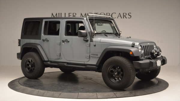 Used 2014 Jeep Wrangler Unlimited Sport for sale Sold at Maserati of Greenwich in Greenwich CT 06830 12