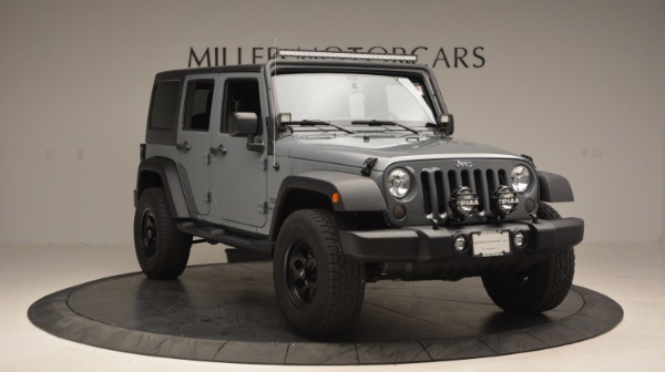 Used 2014 Jeep Wrangler Unlimited Sport for sale Sold at Maserati of Greenwich in Greenwich CT 06830 13