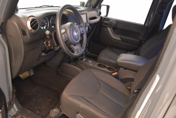 Used 2014 Jeep Wrangler Unlimited Sport for sale Sold at Maserati of Greenwich in Greenwich CT 06830 14