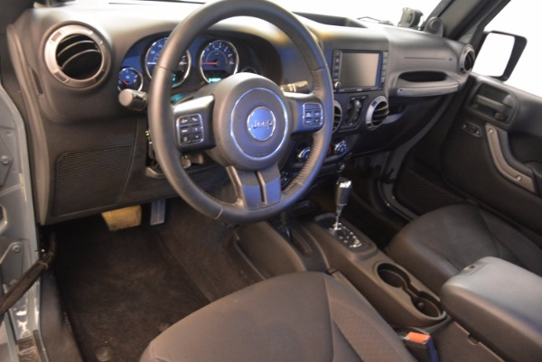 Used 2014 Jeep Wrangler Unlimited Sport for sale Sold at Maserati of Greenwich in Greenwich CT 06830 15
