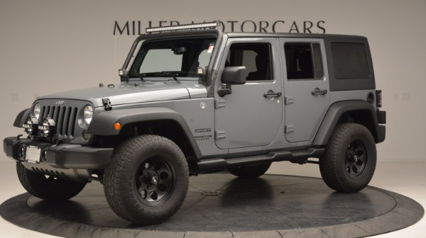 Used 2014 Jeep Wrangler Unlimited Sport for sale Sold at Maserati of Greenwich in Greenwich CT 06830 2