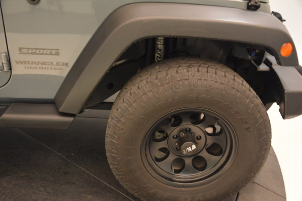 Used 2014 Jeep Wrangler Unlimited Sport for sale Sold at Maserati of Greenwich in Greenwich CT 06830 26