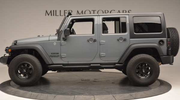 Used 2014 Jeep Wrangler Unlimited Sport for sale Sold at Maserati of Greenwich in Greenwich CT 06830 3