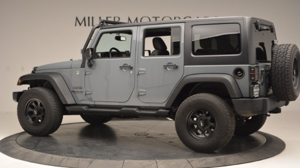 Used 2014 Jeep Wrangler Unlimited Sport for sale Sold at Maserati of Greenwich in Greenwich CT 06830 4