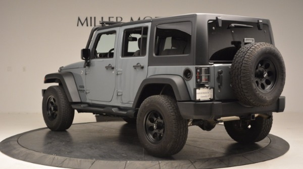 Used 2014 Jeep Wrangler Unlimited Sport for sale Sold at Maserati of Greenwich in Greenwich CT 06830 5