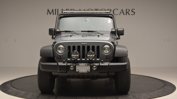 Used 2014 Jeep Wrangler Unlimited Sport for sale Sold at Maserati of Greenwich in Greenwich CT 06830 6
