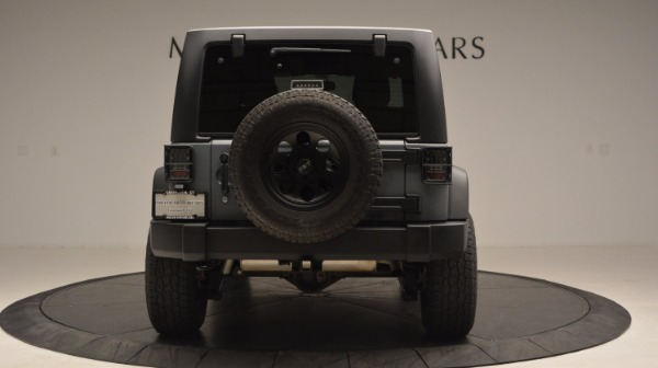 Used 2014 Jeep Wrangler Unlimited Sport for sale Sold at Maserati of Greenwich in Greenwich CT 06830 7