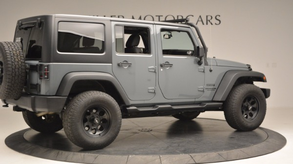 Used 2014 Jeep Wrangler Unlimited Sport for sale Sold at Maserati of Greenwich in Greenwich CT 06830 9