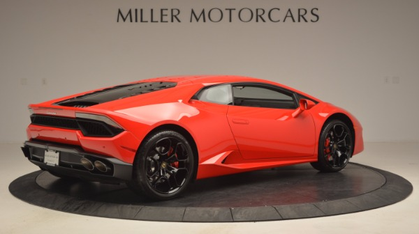 Used 2016 Lamborghini Huracan LP 580-2 for sale Sold at Maserati of Greenwich in Greenwich CT 06830 8