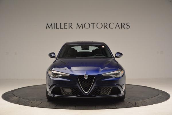 New 2017 Alfa Romeo Giulia Quadrifoglio for sale Sold at Maserati of Greenwich in Greenwich CT 06830 12