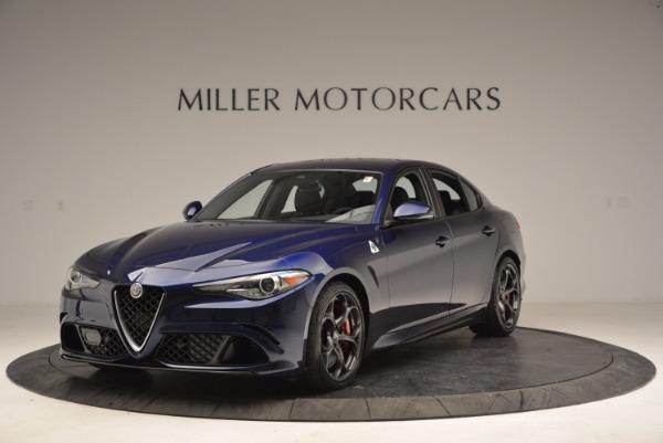 New 2017 Alfa Romeo Giulia Quadrifoglio for sale Sold at Maserati of Greenwich in Greenwich CT 06830 1
