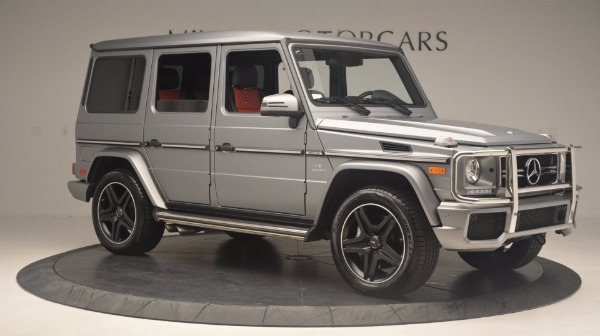 Used 2016 Mercedes Benz G-Class G 63 AMG for sale Sold at Maserati of Greenwich in Greenwich CT 06830 10