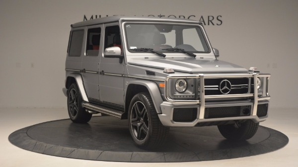 Used 2016 Mercedes Benz G-Class G 63 AMG for sale Sold at Maserati of Greenwich in Greenwich CT 06830 11