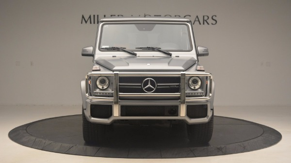 Used 2016 Mercedes Benz G-Class G 63 AMG for sale Sold at Maserati of Greenwich in Greenwich CT 06830 12