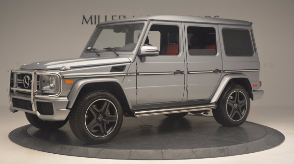 Used 2016 Mercedes Benz G-Class G 63 AMG for sale Sold at Maserati of Greenwich in Greenwich CT 06830 2
