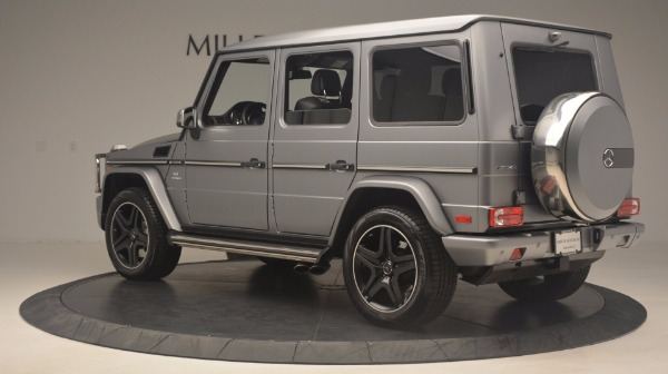 Used 2016 Mercedes Benz G-Class G 63 AMG for sale Sold at Maserati of Greenwich in Greenwich CT 06830 4